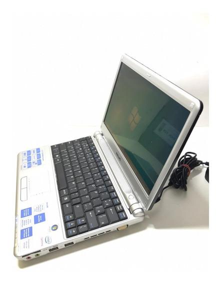 Netbook Philips 11nb9504 Core Duo 1gb 120gb Sem Bateria