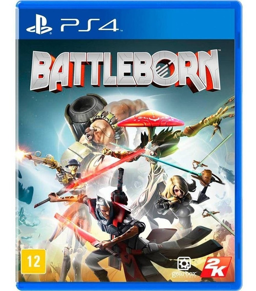 Jogo Ps4 Battleborn - Novo - Lacrado