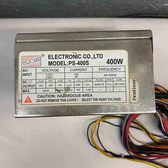 Fonte Real Troni Model: Ps-400s 400w 20p Sata