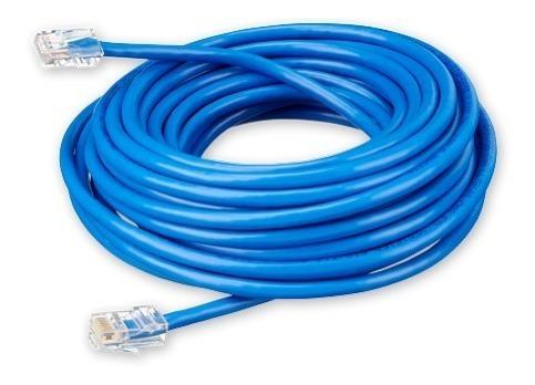 Cable Red 30mts Cat 6e Patch Cord Internet Titan Belgrano