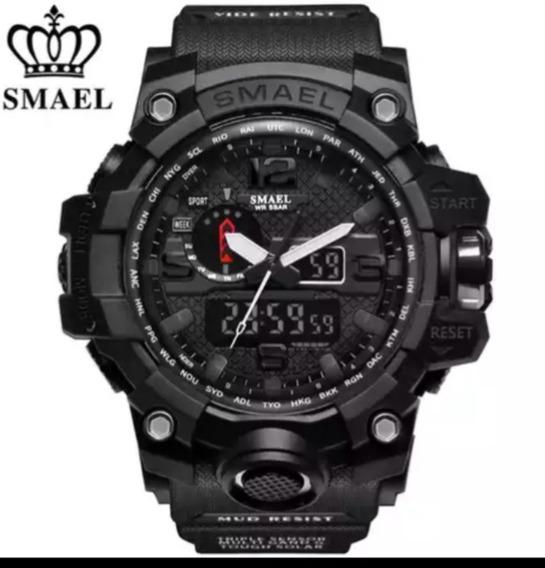 Relógio Smael 1545 Militar Shock Original Várias Cores