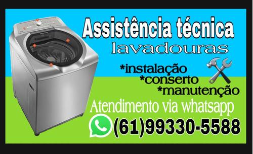 Imagem 1 de 1 de Assistência Técnica Em Máquina De Lavar