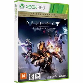 Destiny + Expansão 1, 2 + Taken King - Midia Fisica Xbox 360