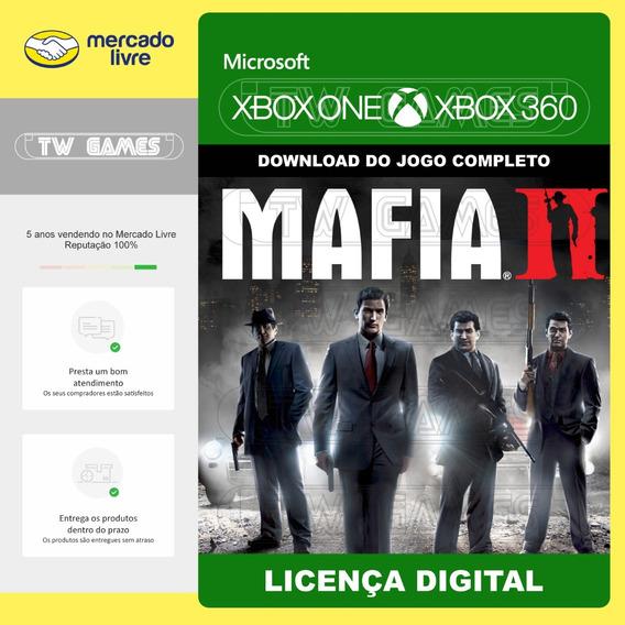 Mafia Ii 2 Retrocompativel Xbox One Xbox 360