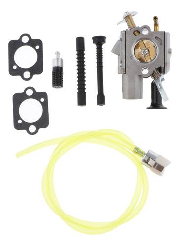 Imagen 1 de 7 de Kit De Carburador Para Motosierra Stihl Ms261 Ms271 Ms291
