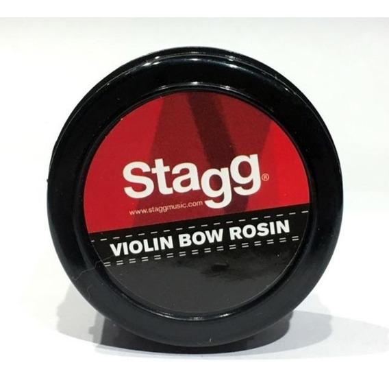 Resina Violín Stagg Rosvn En Pote Dosificador Bow Rosin