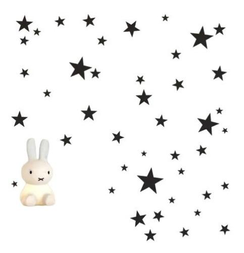 Imagem 1 de 3 de Adesivo De Parede - Kit Com 42 Estrelas Promoção Limitada!