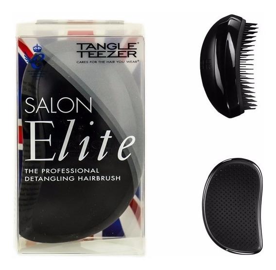 Escova Tangle Teezer Salon Elite Black + Brinde