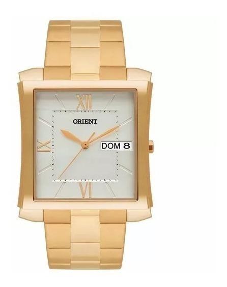 Relógio Orient Masculino Ggss2001 S3kx Classico Quadrado Nfe