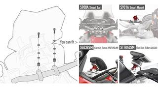 Kit Montaje S900a S901a Moto Gps 02skit Givi Rider Pro
