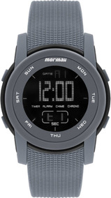 Relógio Mormaii Digital Grande Fundo Negativo Mo1000aa/8c