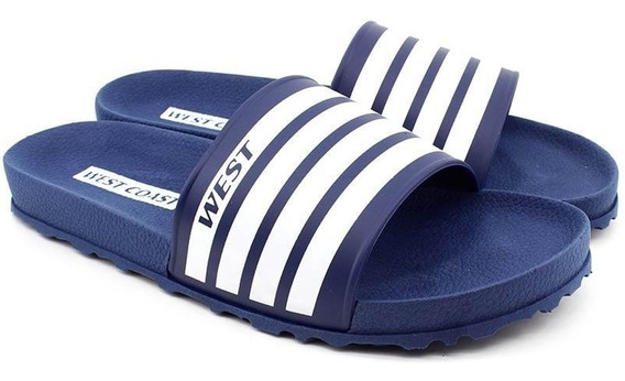 Chinelo Slide West Coast Zuma 185603 Azul Loja Pixolé