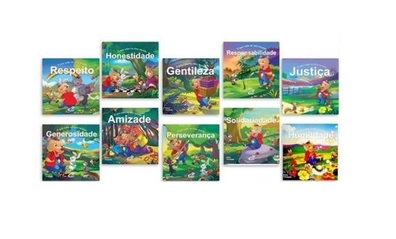 Coleção O Que Cabe No Meu Mundo 1, 2,3 E 4 - Com 40 Livros