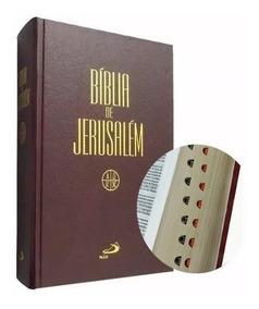Bíblia De Jerusalém - Editora Paulus - Capa Dura