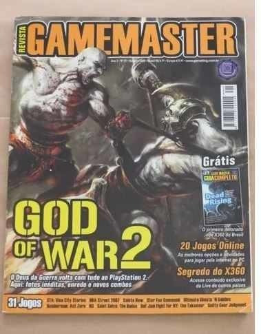 Revista Game Master 21 (outubro 2006) - God Of War Gta X360