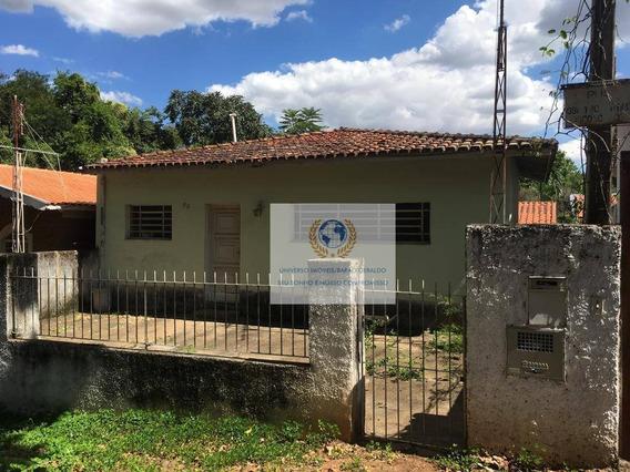 Casa Com 1 Dormitório Para Alugar, 30 M² Por R$ 550/mês - Cidade Universitária - Campinas/sp - Ca1015