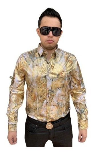 Camisa Buchona Platini Chapo Modelos 2019 Sp04 Tallas Extras