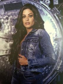 414d433c08 Jaqueta Jeans Feminina Biotipo Lançamento Outono Inverno
