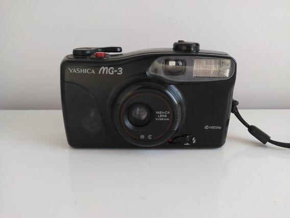 Câmera Fotográfica Yashica Mg-3 - Bom Estado - Não Testada