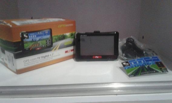 Gps Automotivo Aquarios 4 Rodas Digital 4.3 Tv E Canetinha
