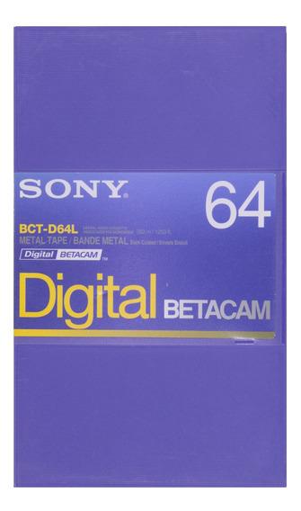 Fita Digital Betacam Sony Bct-d64l