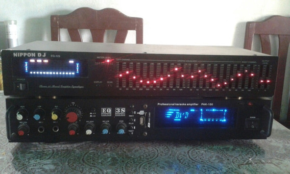 Amplificador Eq Y Exualizador