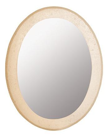 Espejo Misiones Oval Travertino E7029 Foschia