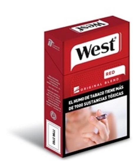 Cigarrillos West Box Pack 10 X 14 Mar Del Plata