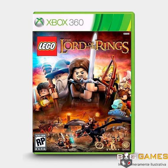 Lego O Senhor Dos Aneis - Xbox 360 - Midia Fisica