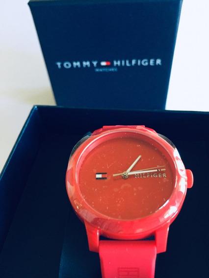 Relógio Tommy Hilfiger Vermelho