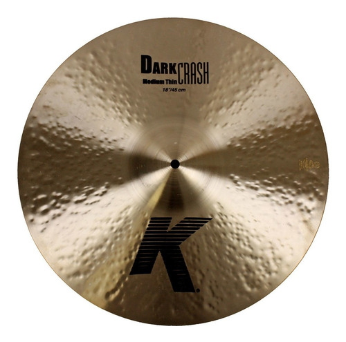 Zildjian K0915 Platillo Serie K Dark Crash Medium Thin 18´´