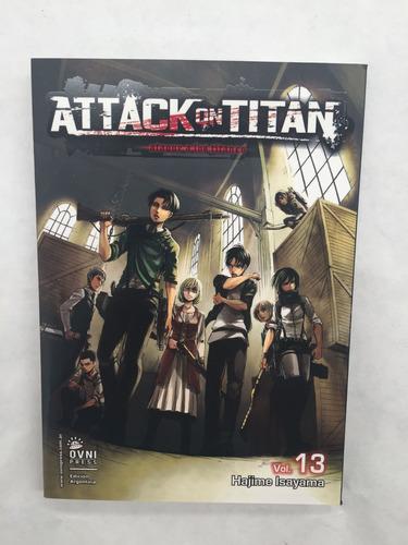Imagen 1 de 3 de Manga, Kodansha, Attack On Titan Vol. 13 Ovni Press