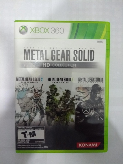 Metal Gear Solid - Xbox 360 - Hd Collection - Original