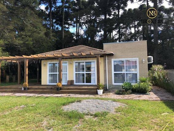 Casa Com 2 Dormitórios À Venda, 120 M² Por R$ 839.900,00 - Quatro Barras - Quatro Barras/pr - Ca0016