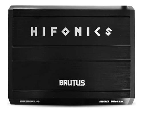 Hifonics Brutus Br1200.4 Clase Ab 4 Canales 1200w P Bocinas