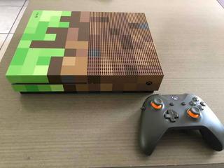 Xbox One S Edición Minecraft 1tb