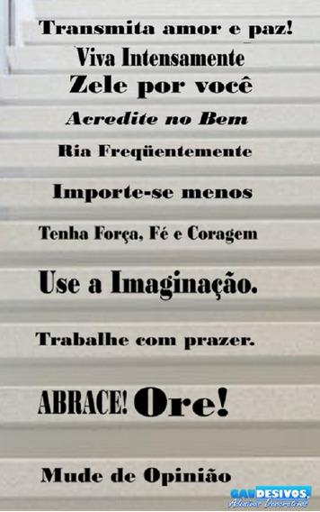 Adesivos Frases Mais Amor Por Favor Casa Móveis E