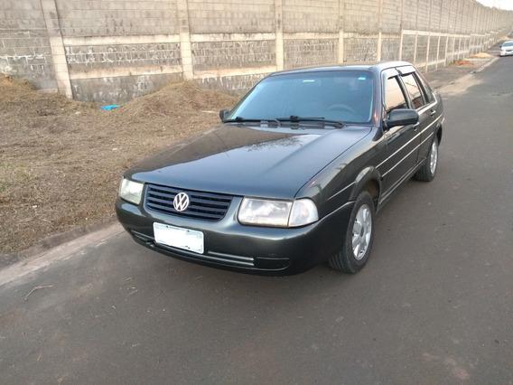 Volkswagen Santana 99 1.8 Cinza Aceito Troca No Mesmo Valor