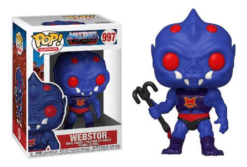 Funko Pop Motu Webstor Máster Of The Universe Dreddstore