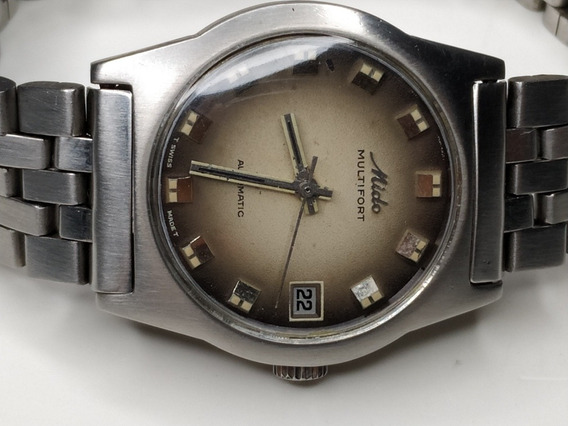 Relógio Mido Multifort Automático Antigo.
