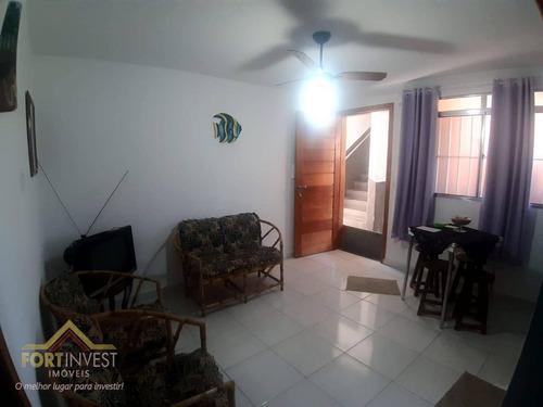 Imagem 1 de 21 de Apartamento Com 2 Dormitórios À Venda, 55 M² Por R$ 155.000,00 - Jardim Sabaúna - Área Verde - Itanhaém/sp - Ap2561