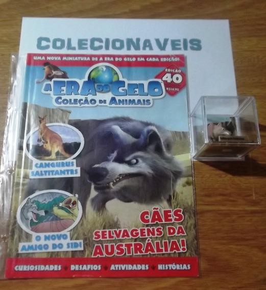 Coleção A Era Do Gelo - Fasciculo + Miniatura - Edição 40