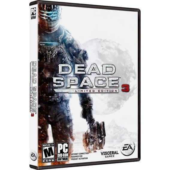 Jogo Dead Space 3 Edição Limitada Pc Mídia Física Nfe