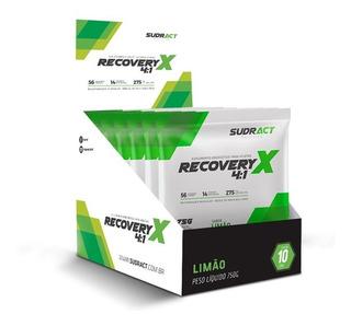 Recovery X 4:1 Sudract Nutrition - 10 Sachês De 75g
