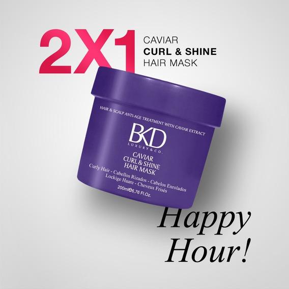 2x1 Bkd Máscara Capilar Curl & Shine X 200ml