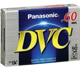 Cassette Mini Dv Dvc Panasonic Made In Japan