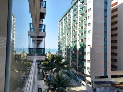 Apartamento Com 3 Dormitórios À Venda, 116 M² Por R$ 480.000 - Canto Do Forte - Praia Grande/sp - Ap2582