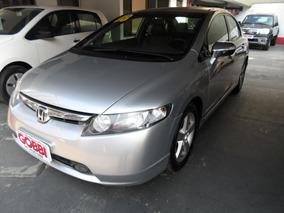 Honda Civic 1.8 Lxs Flex 4p 2008 Prata