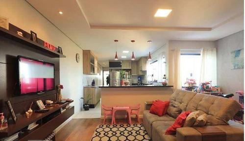 Imagem 1 de 30 de Cobertura Com 2 Dormitórios À Venda, 170 M² Por R$ 550.000,00 - Vila Assunção - Santo André/sp - Co0384