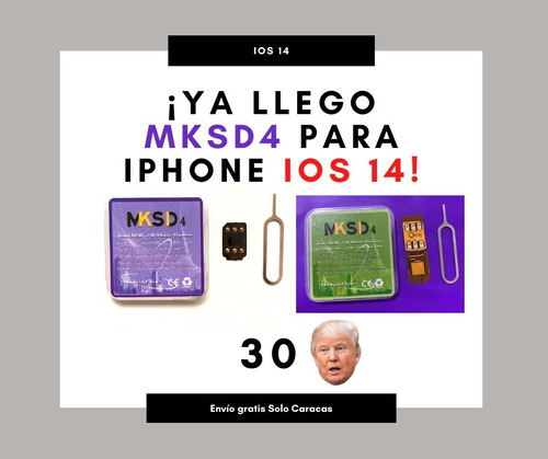 Nueva Mksd4-rsim-geveypro- Turbo Sim iPhone 5s -11-pro